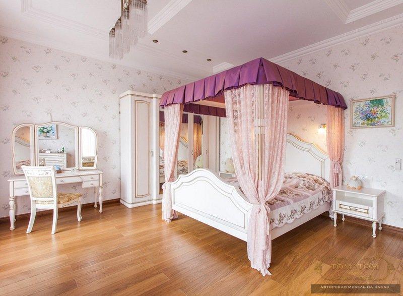 модульная спальня с угловым шкафом купить