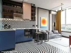 Дизайн смарт-квартиры 18м