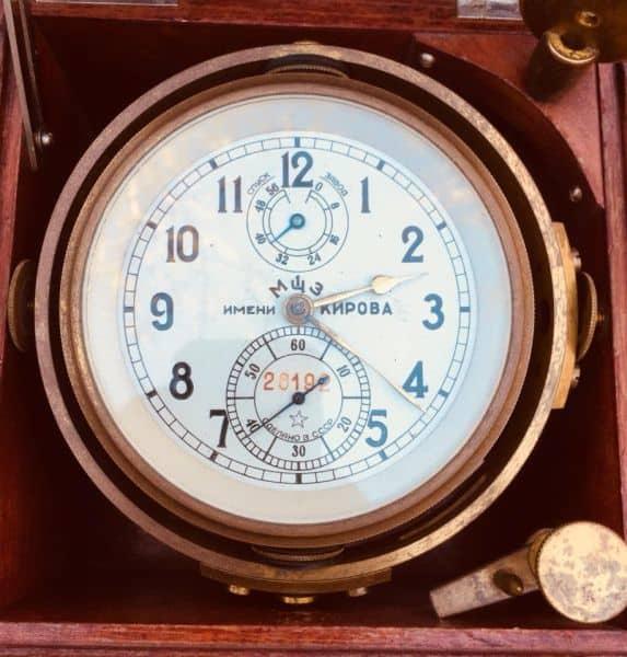 Ретро-хронометр в интерьер