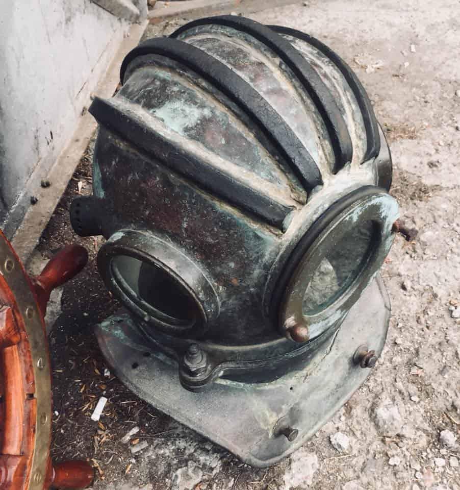 водолазный шлем трехболтовка