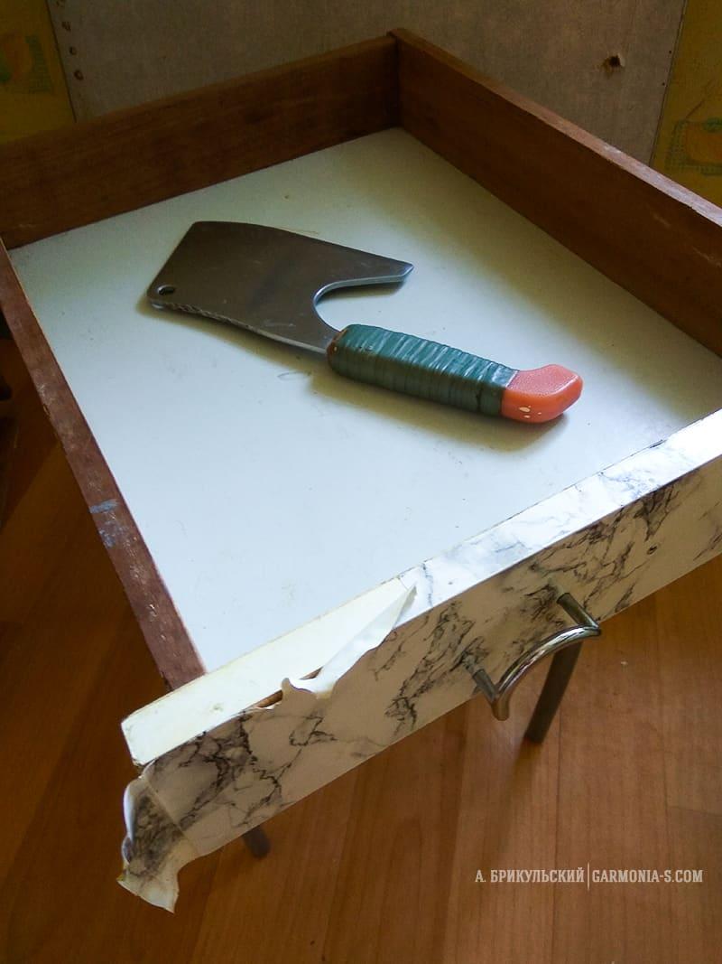 оригинальный кухонный стол своими руками