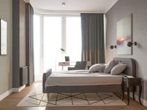 Интерьер спальни в Одессе