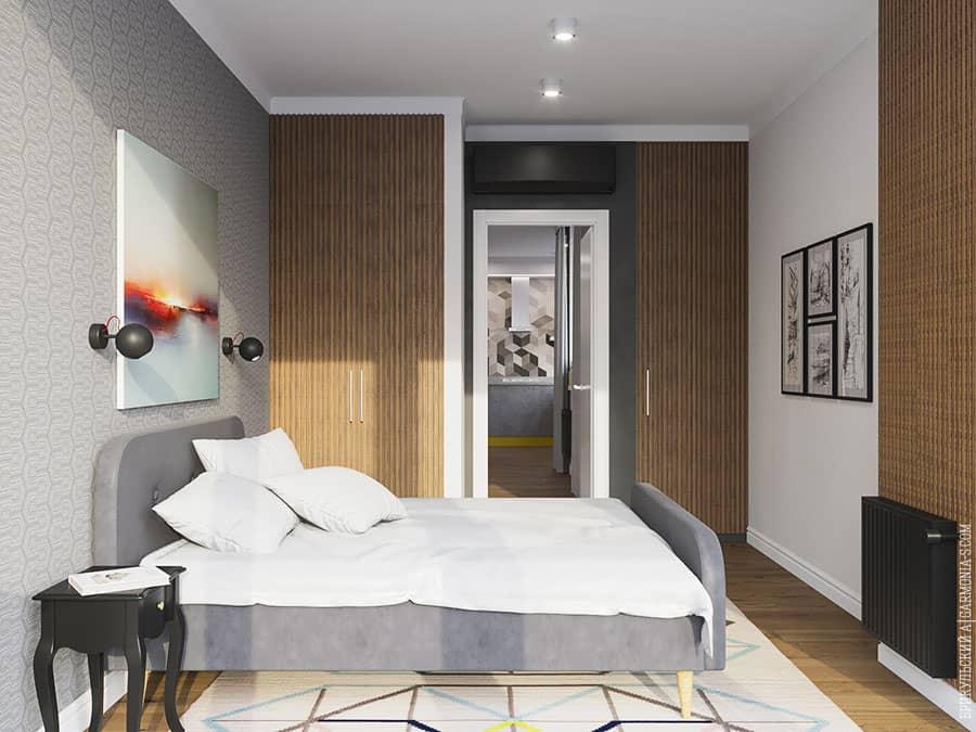 Дизайн спальни в Одессе