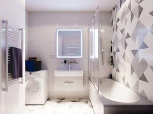 Дизайн ванной комнаты в Одессе