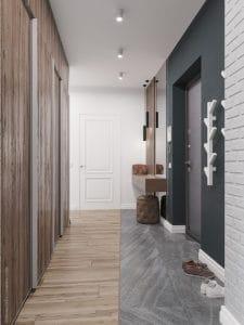 Прихожая в квартире: дизайнерское решение