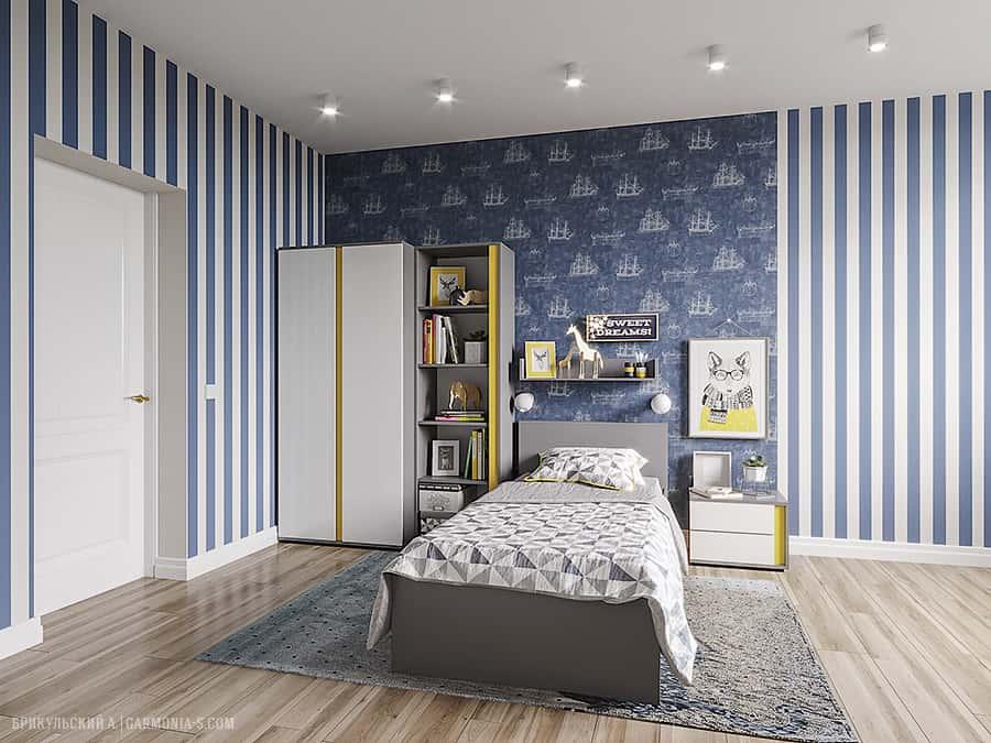 Дизайн-проект десткой комнаты