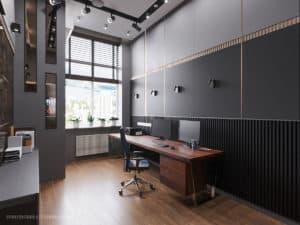 Дизайн рабочего кабинета дома