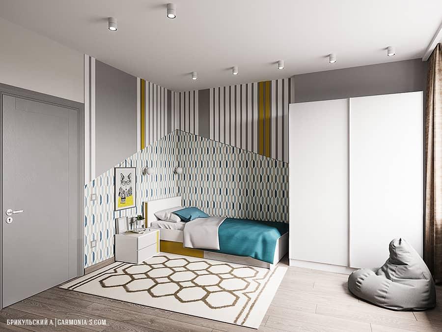 Интерьер детской спальни в Одессе