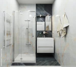 Светлая ванная комната: дизайн и ремонт