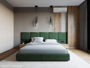 Дизайн спальни в Одессе в современном стиле