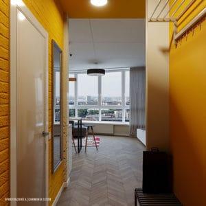 Дизайн прихожей смарт-квартиры в Одессе