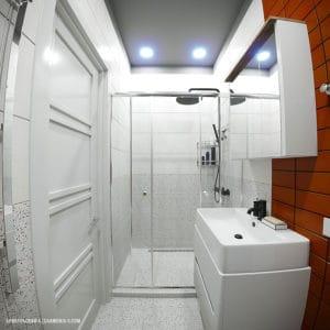 Дизайн ванной/санузла смарт-квартиры в Одессе