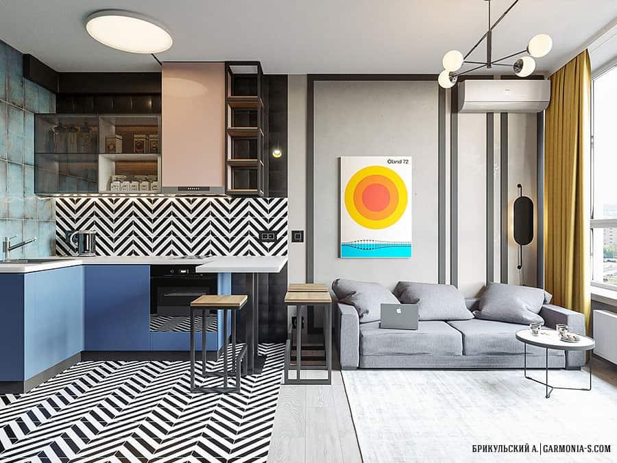 Дизайн смарт-квартиры в Киеве