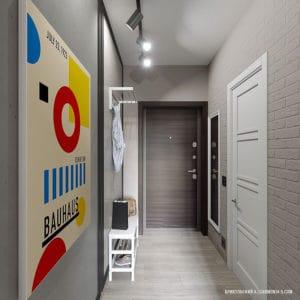 Дизайн прихожей в смарт-квартире